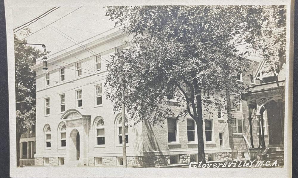 Gloversville YMCA Postcard 1920s
