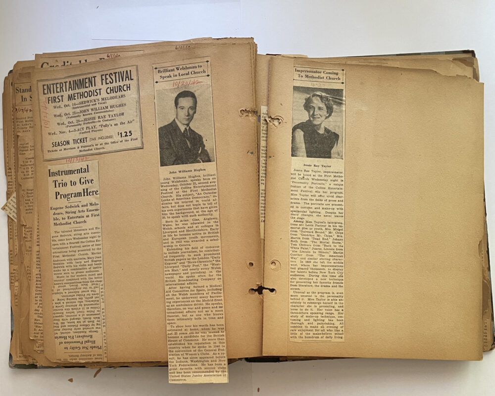 Harold Griffis Scrapbook Pages