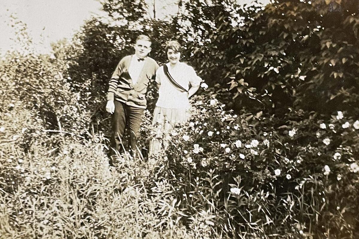 Hike to Mountain Lake July 4, 1924