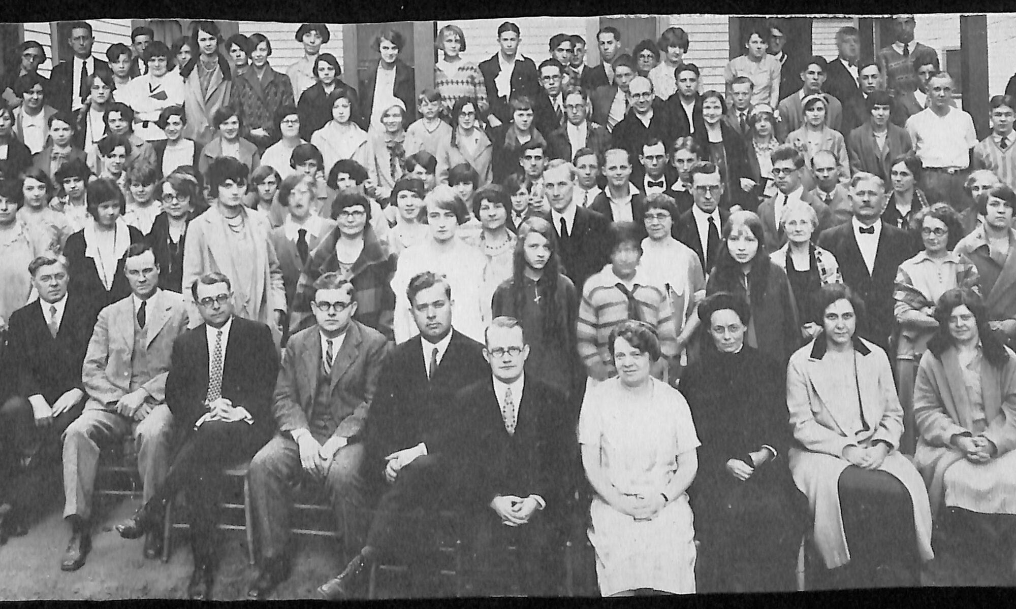 Round Lake Epworth League Institute August 14-22-1926