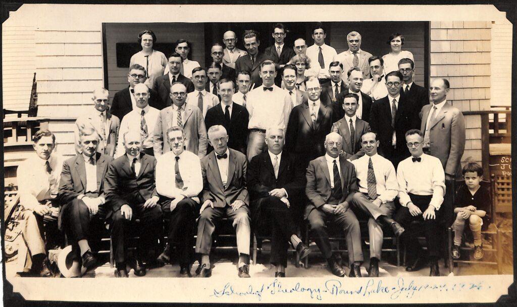 School of Theology Round Lake, New York July-19-24, 1926