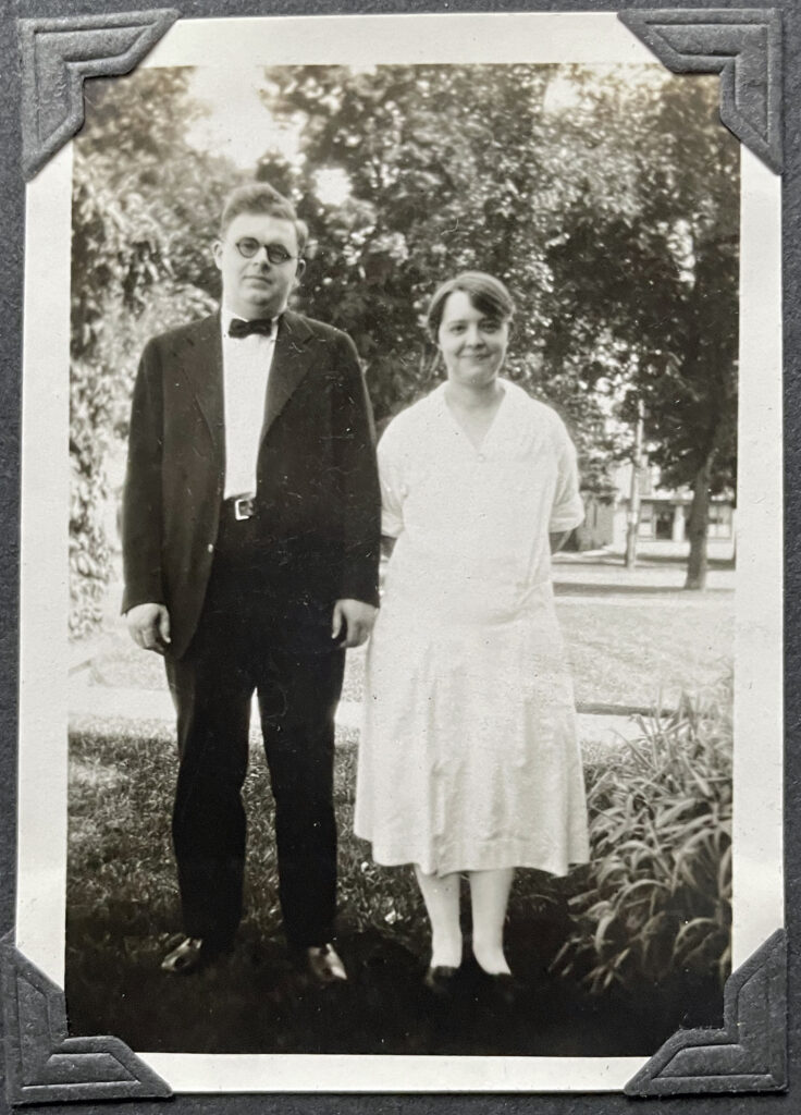 Harold and Evelyn Griffis circa 1930's