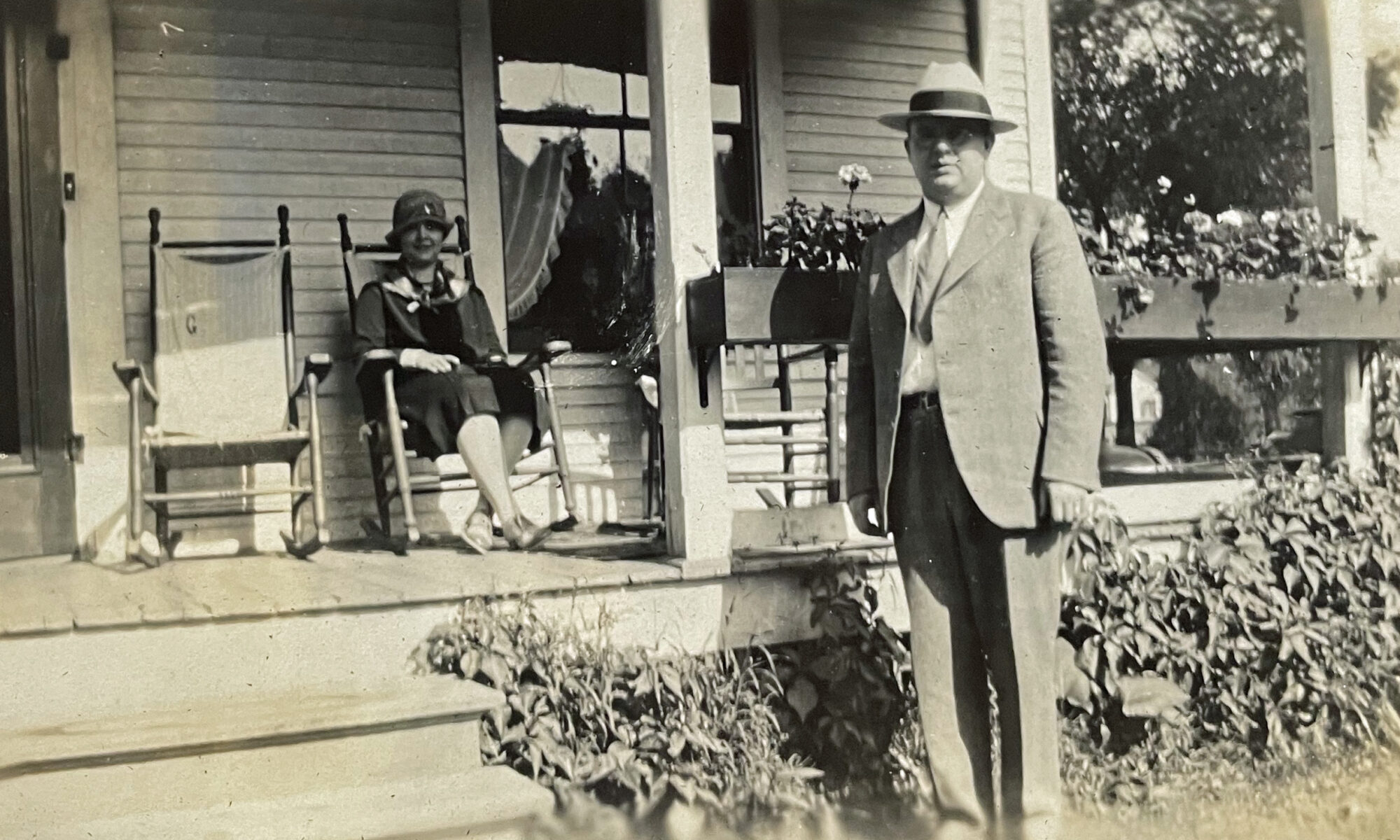 Harold and Evelyn late 1920's