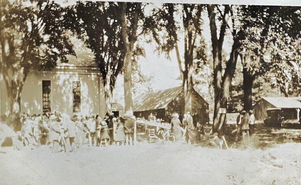 Jonesville Clam Bake Labor day 1926