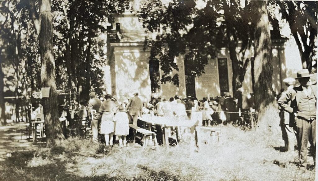 Jonesville Clambake Labor Day 1926