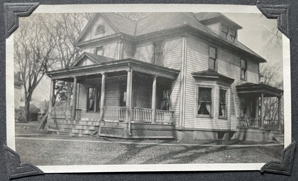 Williamstown Parsonage Outside View