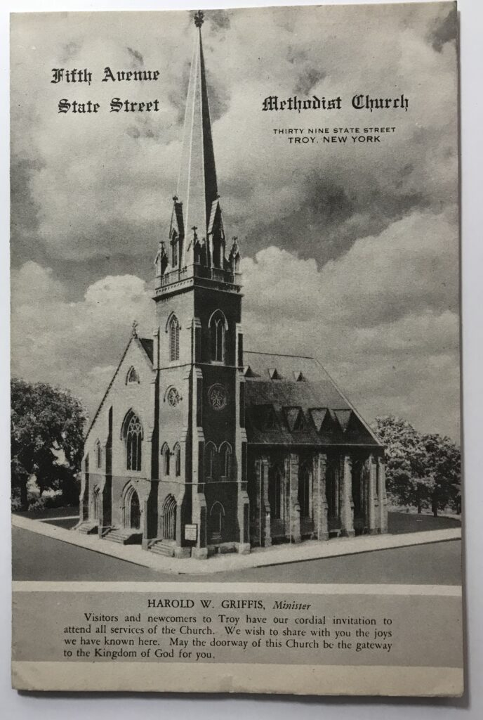 Fifth Avenue State Street Methodist Church Troy New York