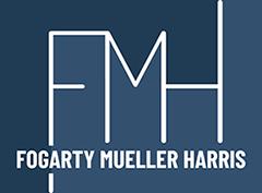 Fogarty Mueller Harris FMH Law Logo