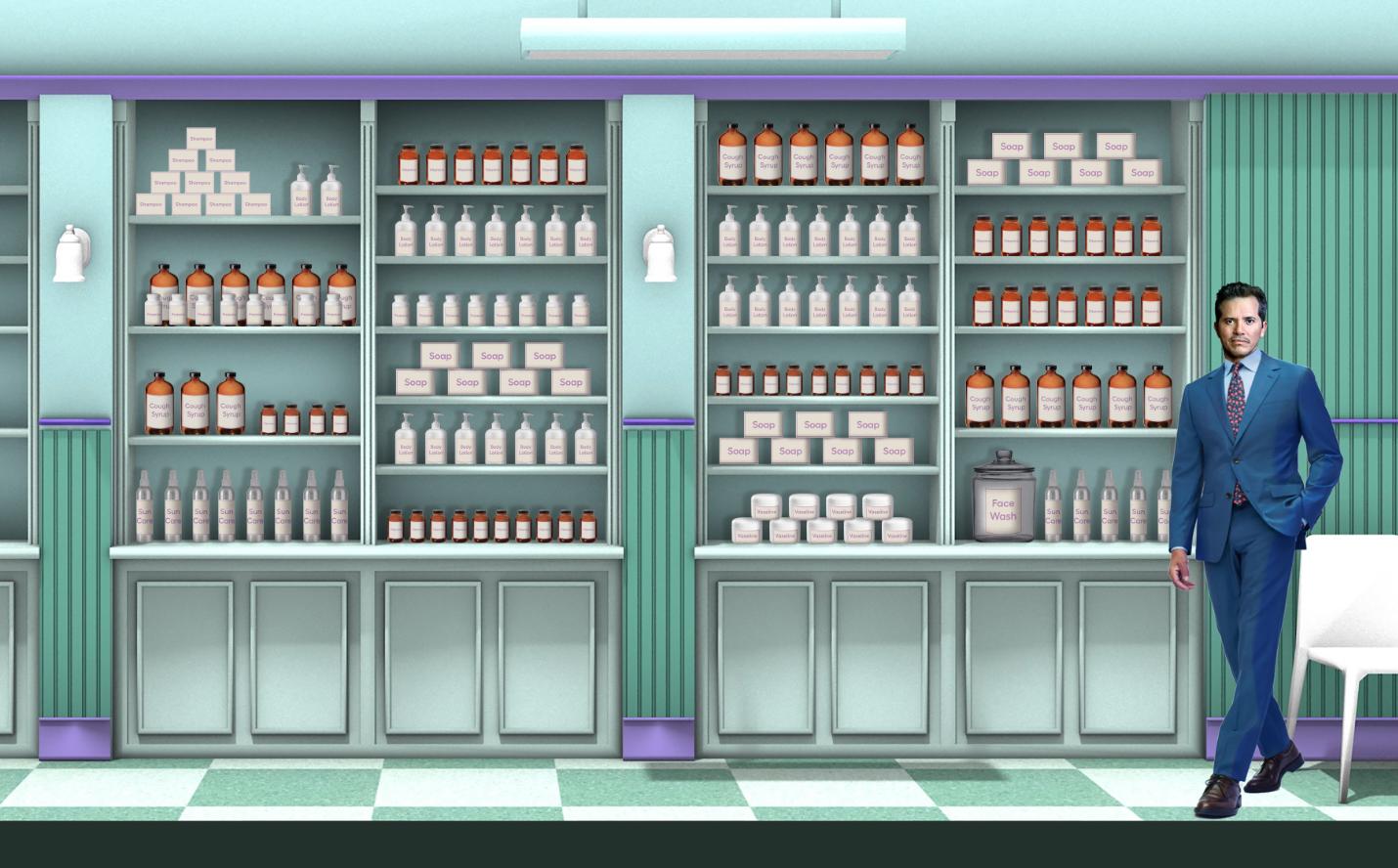 shelf layout