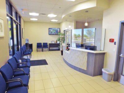 Regional Pain Institute waiting area