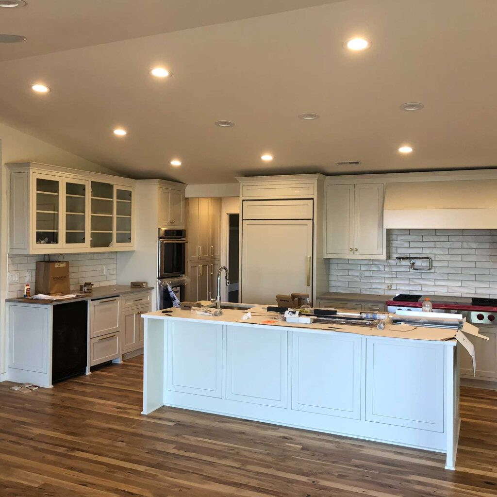 residential kitchen remodel electrician services