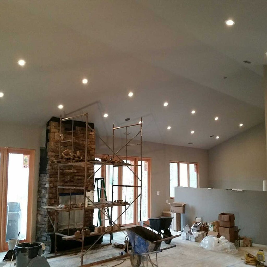 new residential construction lighting services
