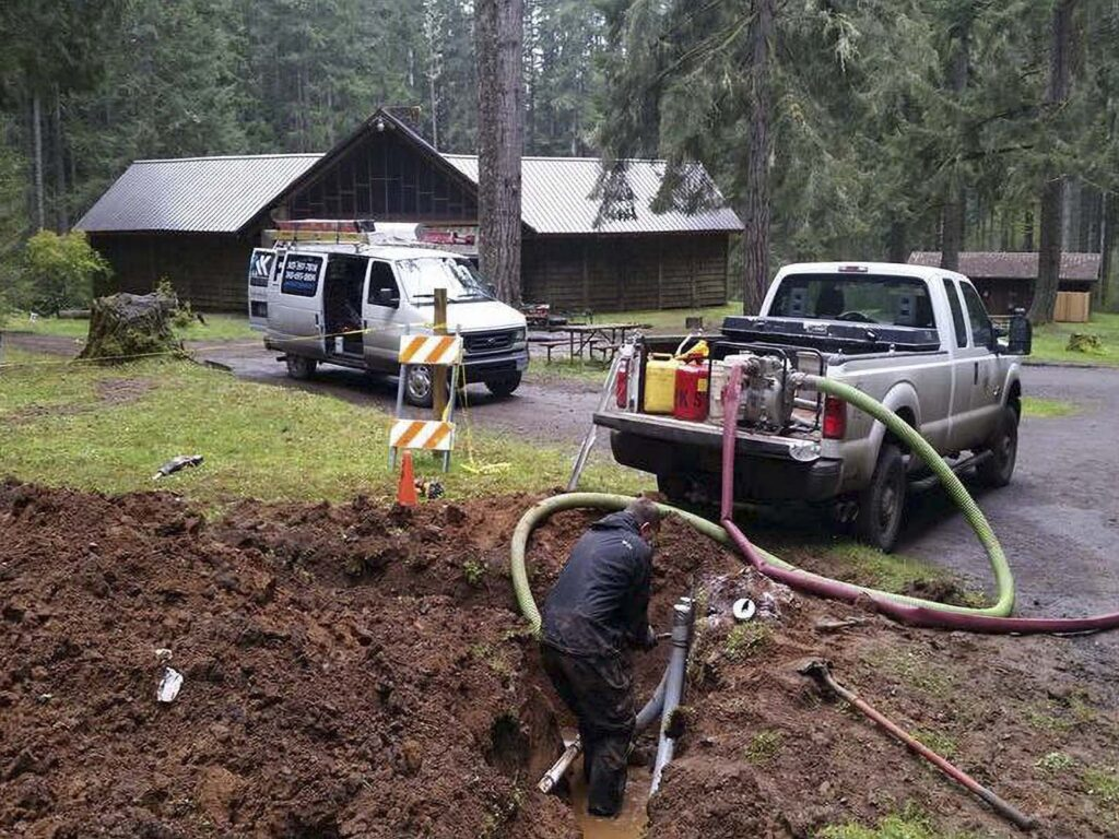 Camp Wilkerson electrical installation