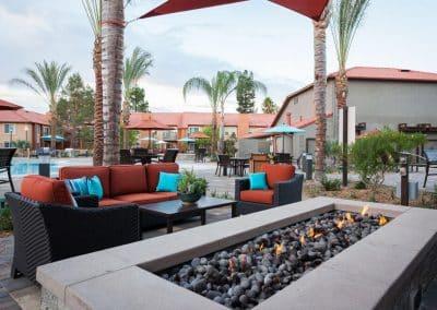 Corona Pointe Resort outdoor patio