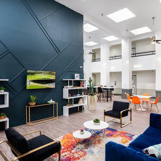 Artist Village Apartment Clubroom