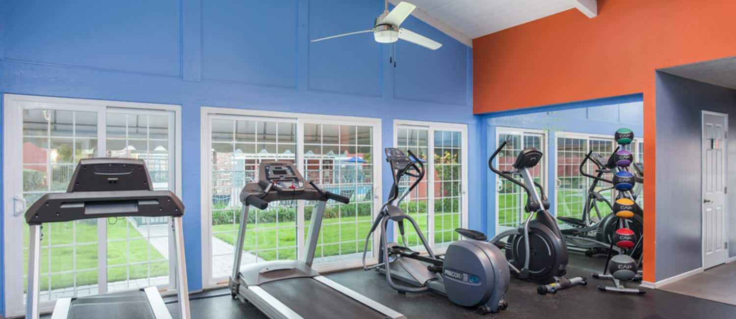Countrywood Gym with Equipment After