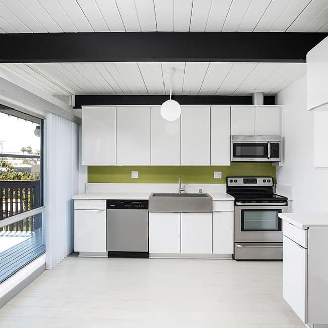 The Parson Apartment kitchen