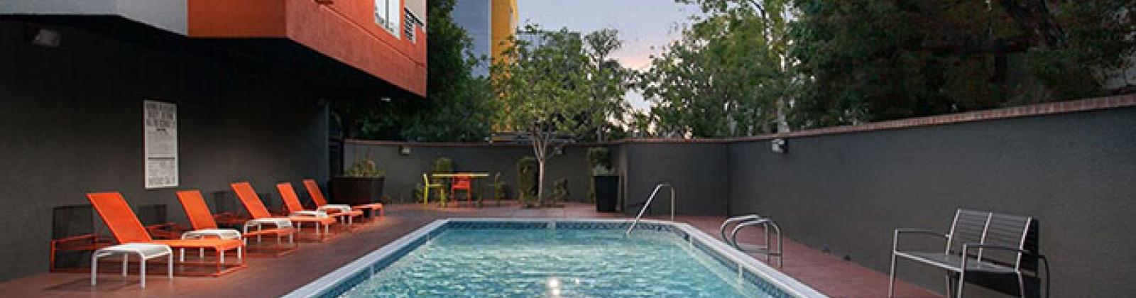 poolside recreation