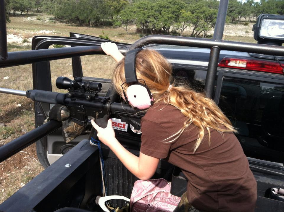 Shay's first TX hunt