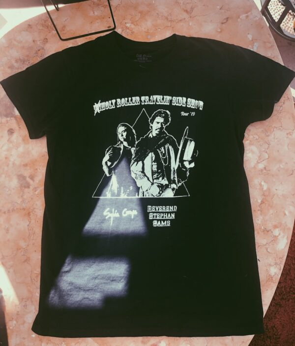 (Un)holy Rollers Tour t-shirt