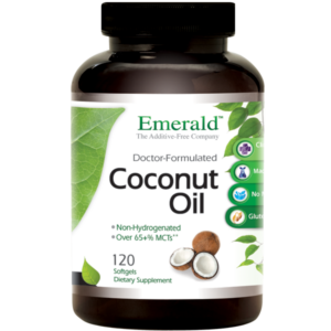 Emerald Labs Coconut Oil (120) Bottle