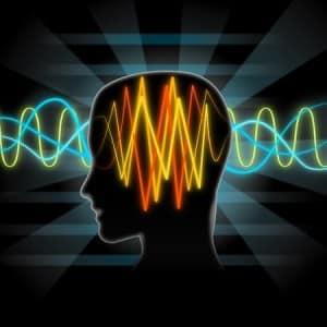 41604703 - brain waves illustration