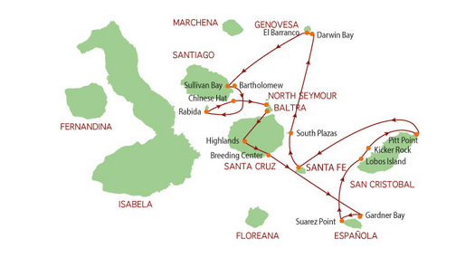 Map courtesy of Reina Silva