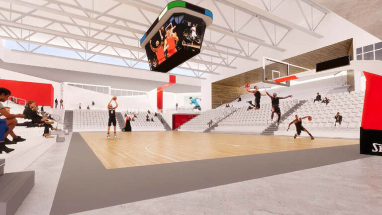 A Basketball Training & Fitness Center.