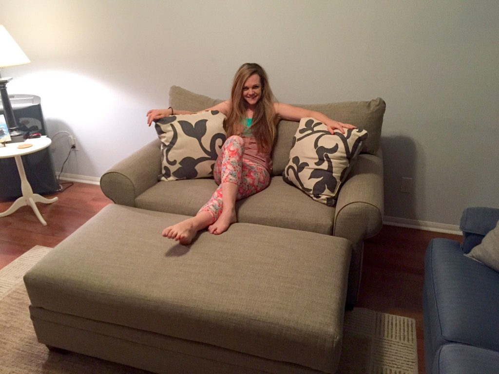 big couch little me