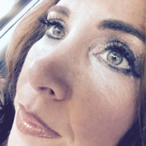 eyelash extension closeup in tampa