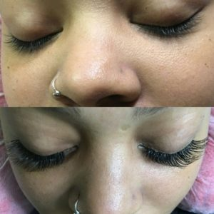 volume lashes in tampa