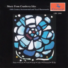 Music from Cranberry Isles CD cover.