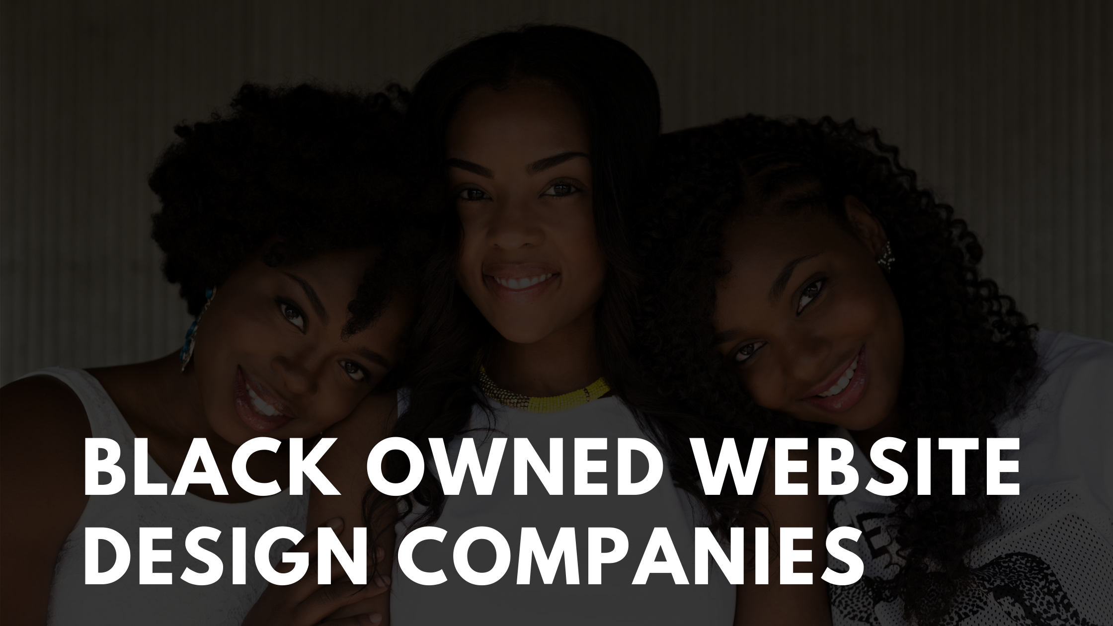 black owned website design companies