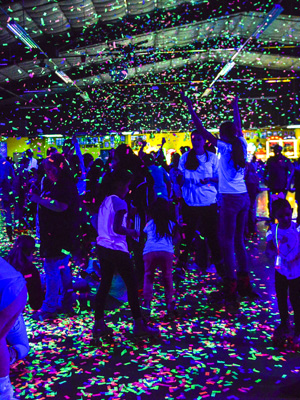 Skagit Skate Glow Party Images