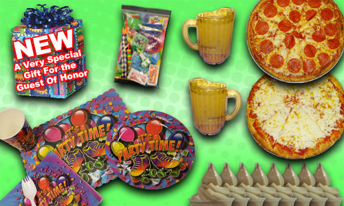 Ultimate Skater birthday party package contents