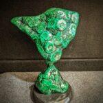 Malachite sculpture