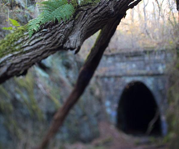 Crozet Tunnel entrance