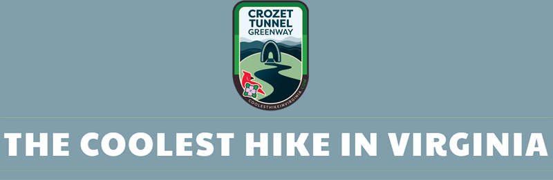 The Coolest Hike in Virginia Logo