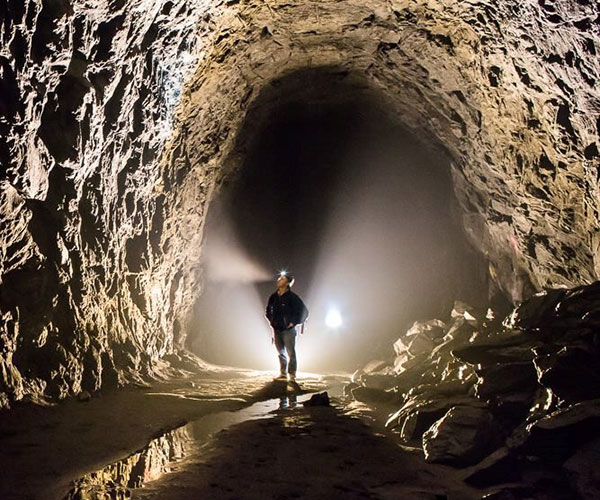 Hiking the Blue Ridge Tunnel
