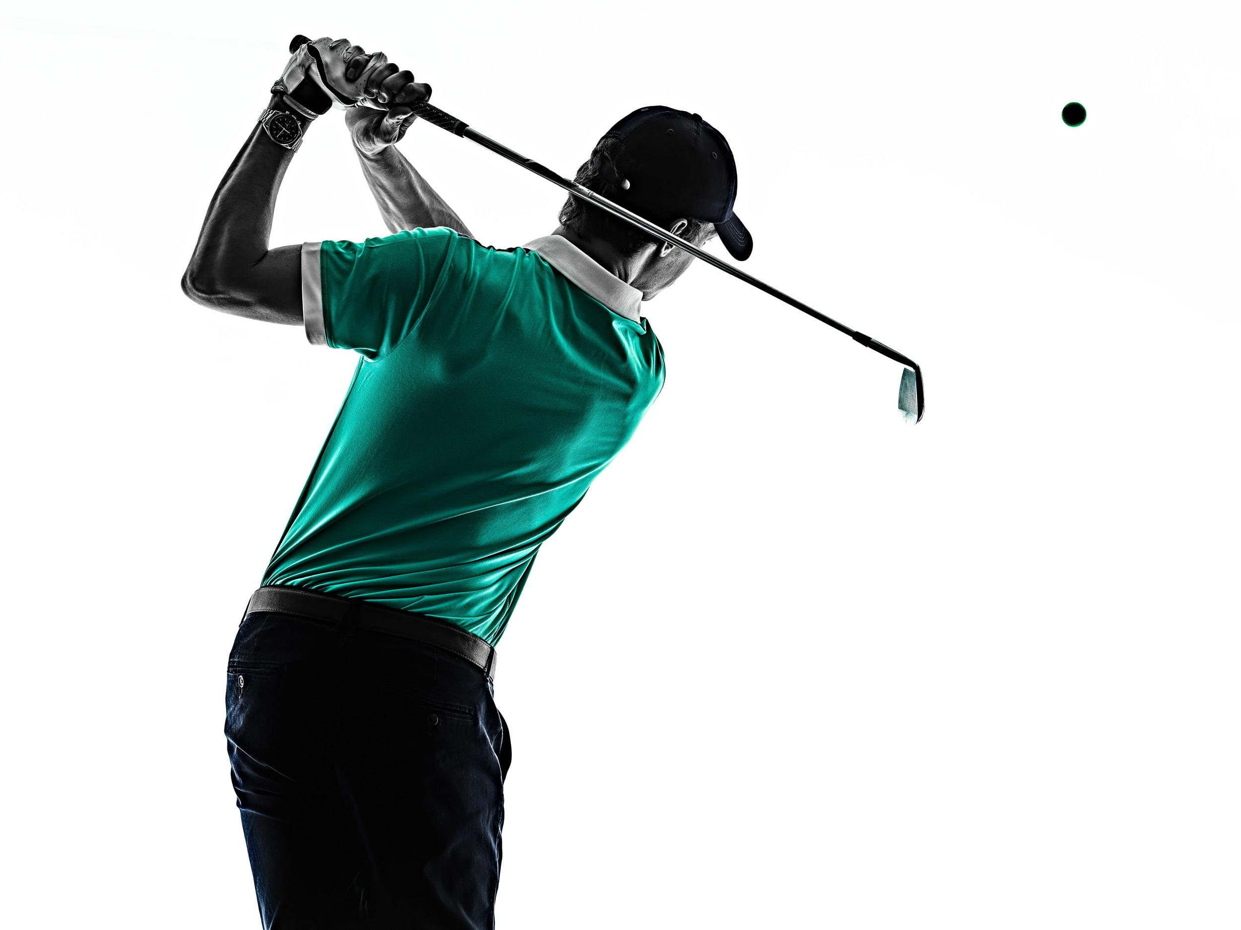 Golf swing homepage