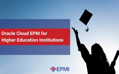 Oracle Cloud EPM for Higher Education Institutions