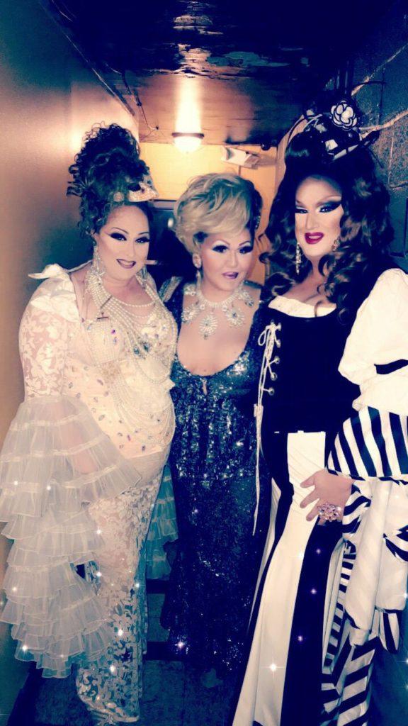 Brionna Brooks, Danyel Vasquez and Victoria London