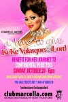Benefit for Keke Valasquez-Lord   Club Marcella (Buffalo, New York)   10/28/2012