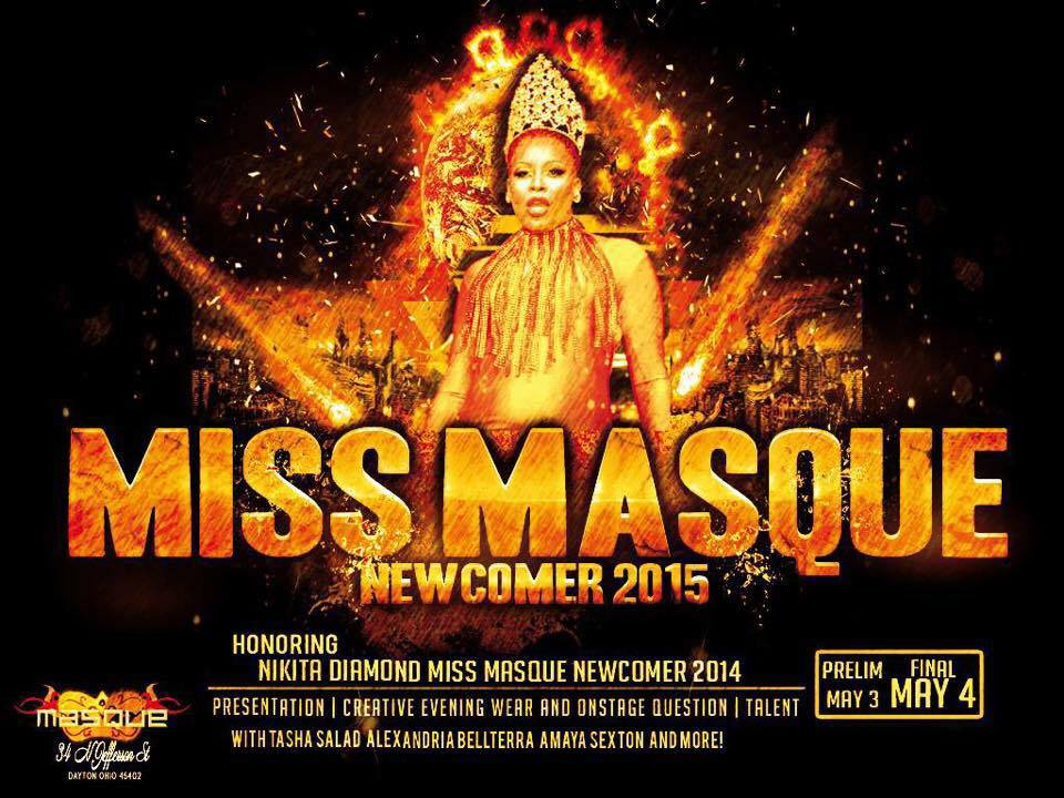 Show Ad   Masque Night Club (Dayton, Ohio)   5/3-5/4/2015