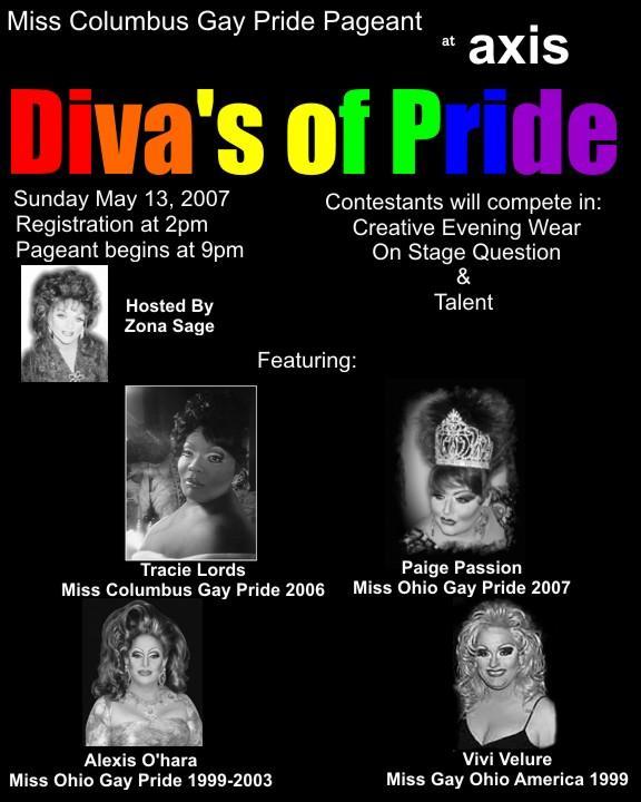 Miss Columbus Gay Pride | Axis Night Club (Columbus, Ohio) | 5/13/2007