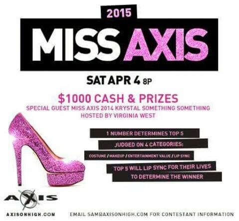 Show Ad   Axis Night Club (Columbus, Ohio)   4/4/2015