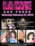 Show Ad   Grey Fox (St. Louis, Missouri)   2/21/2015