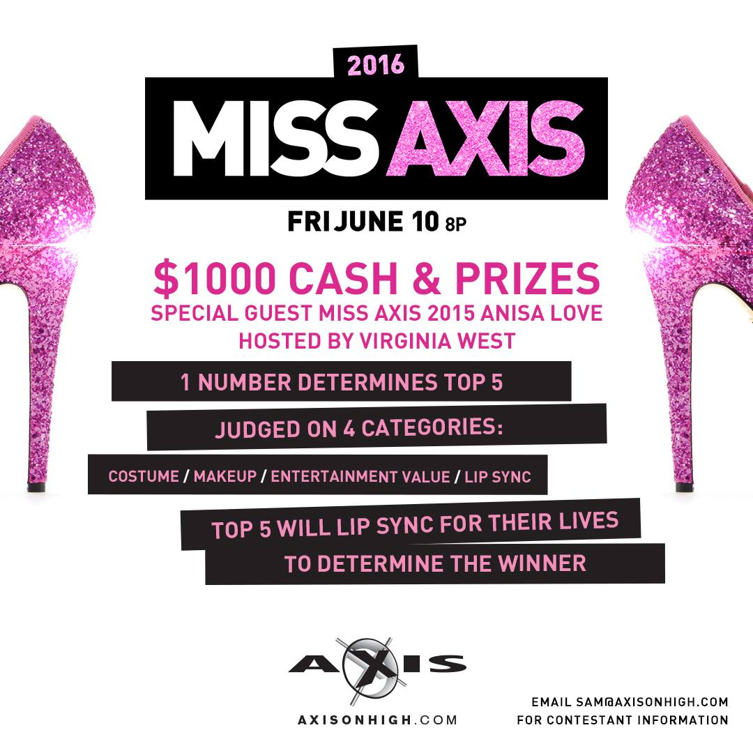 Show Ad   Miss Axis   Axis (Columbus, Ohio)   6/10/2016