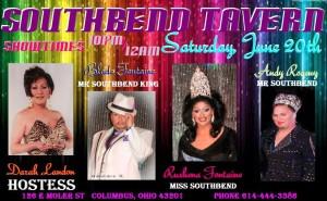 Show Ad   Southbend Tavern (Columbus, Ohio)   6/20/2015