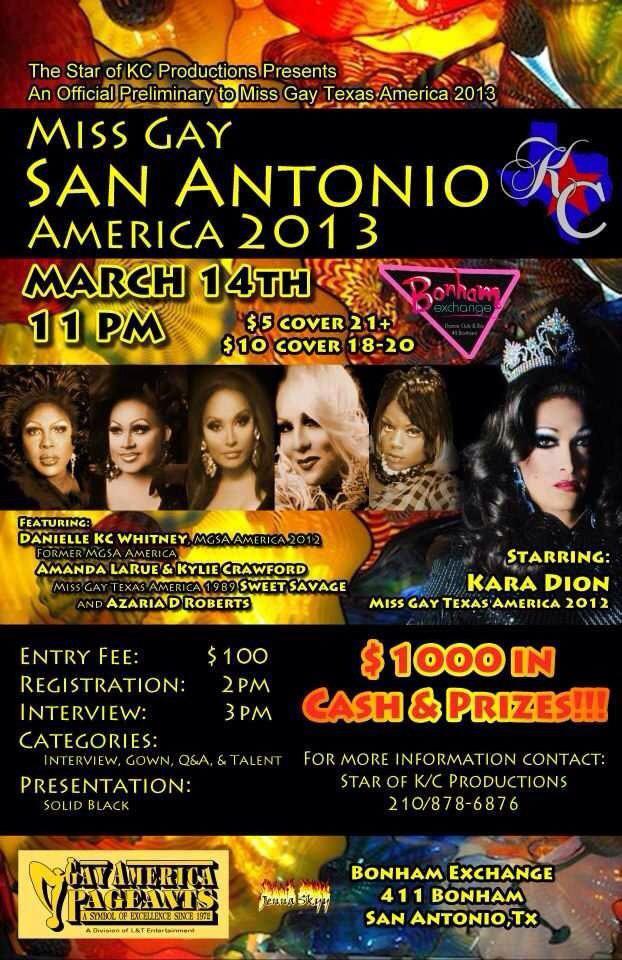 Show Ad   Bonham Exchange (San Antonio, Texas)   3/14/2013